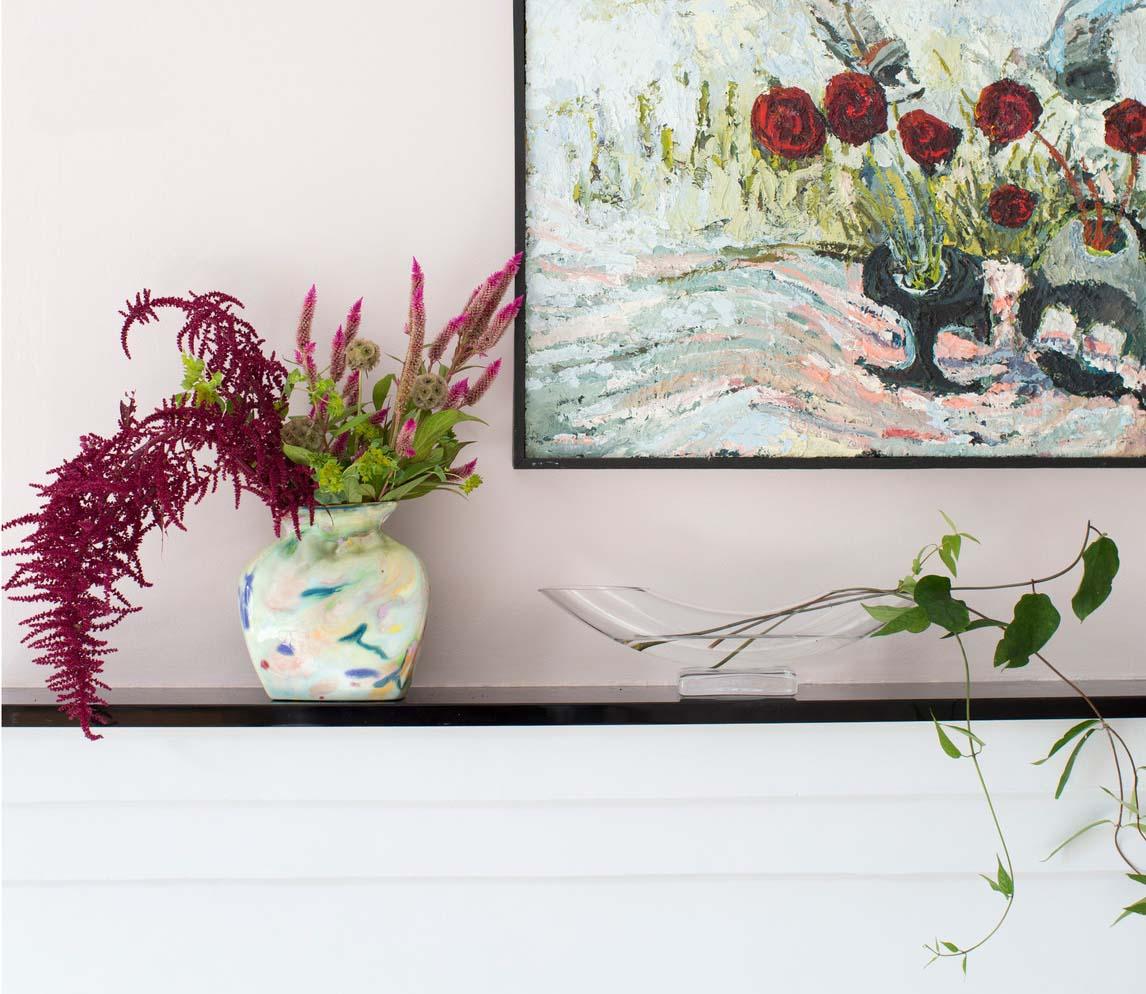 CLOTH & KIND :: Five Points Tudor Cottage, Living Room Mantle.jpg
