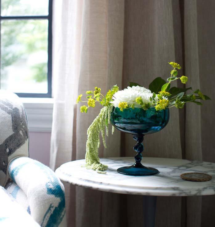 CLOTH & KIND :: Five Points Tudor Cottage, Living Room Table Detail.jpg