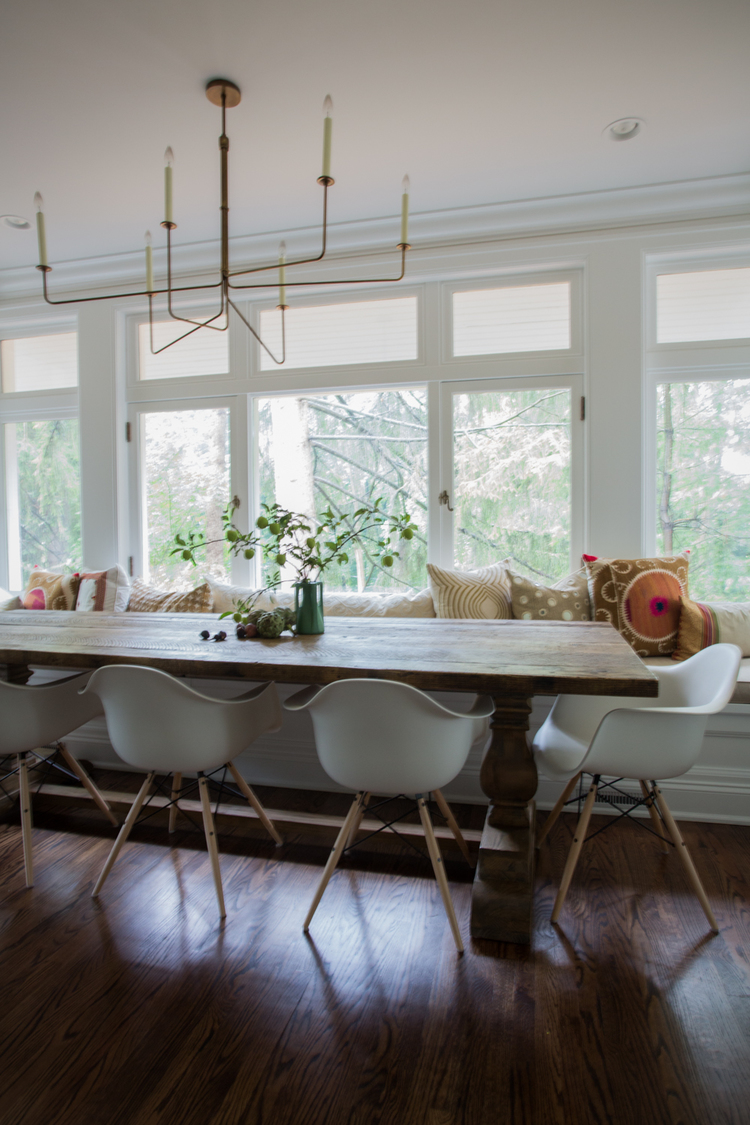 CLOTH & KIND :: Ann Arbor Hills English Cottage, Breakfast Nook.jpg