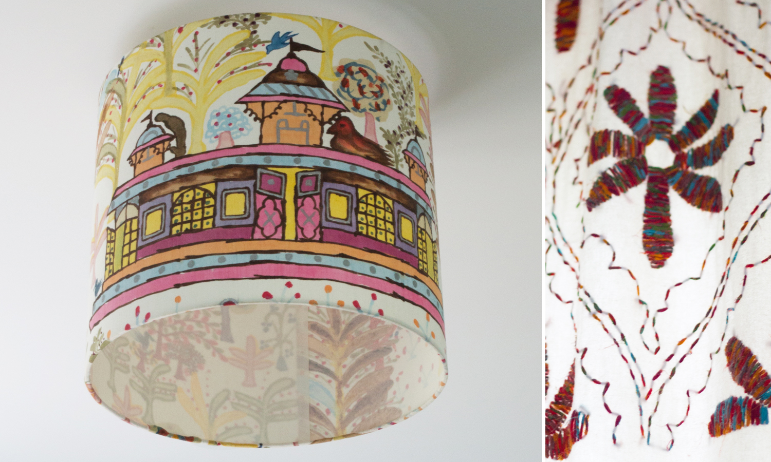CLOTH & KIND :: Ann Arbor Hills English Cottage, Girl's Bedroom Light Fixture.jpg