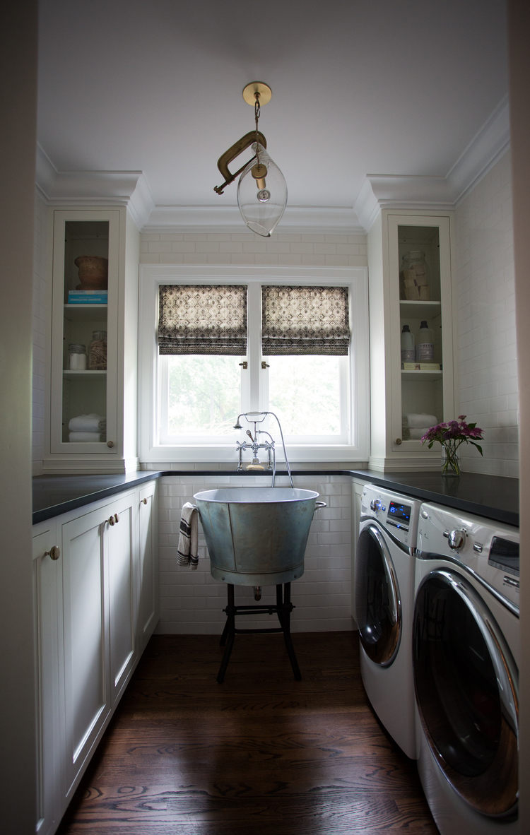 CLOTH & KIND :: Ann Arbor Hills English Cottage, Laundry Room.jpg