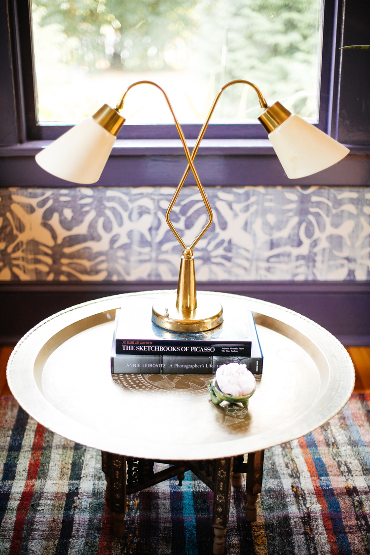 CLOTH & KIND :: Wilcox Modern Bungalow, Dining Room Side Table Detail.jpg