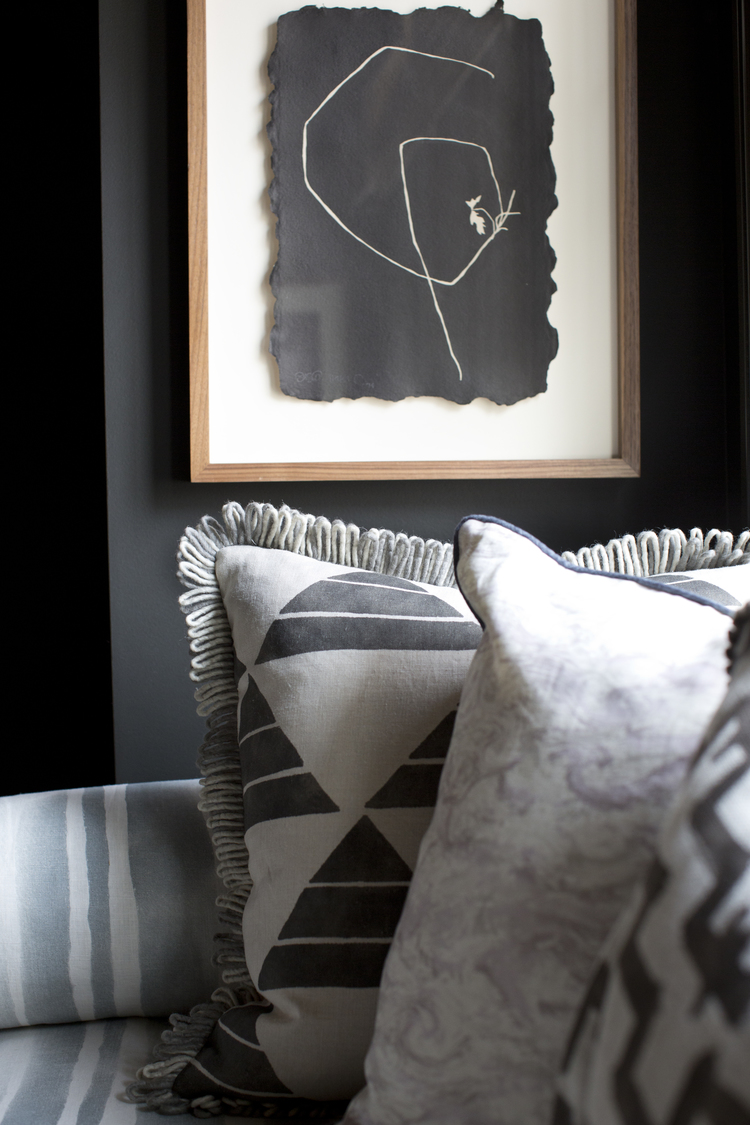 CLOTH & KIND :: Holiday Showhouse, Pillow and Art Detail.jpg