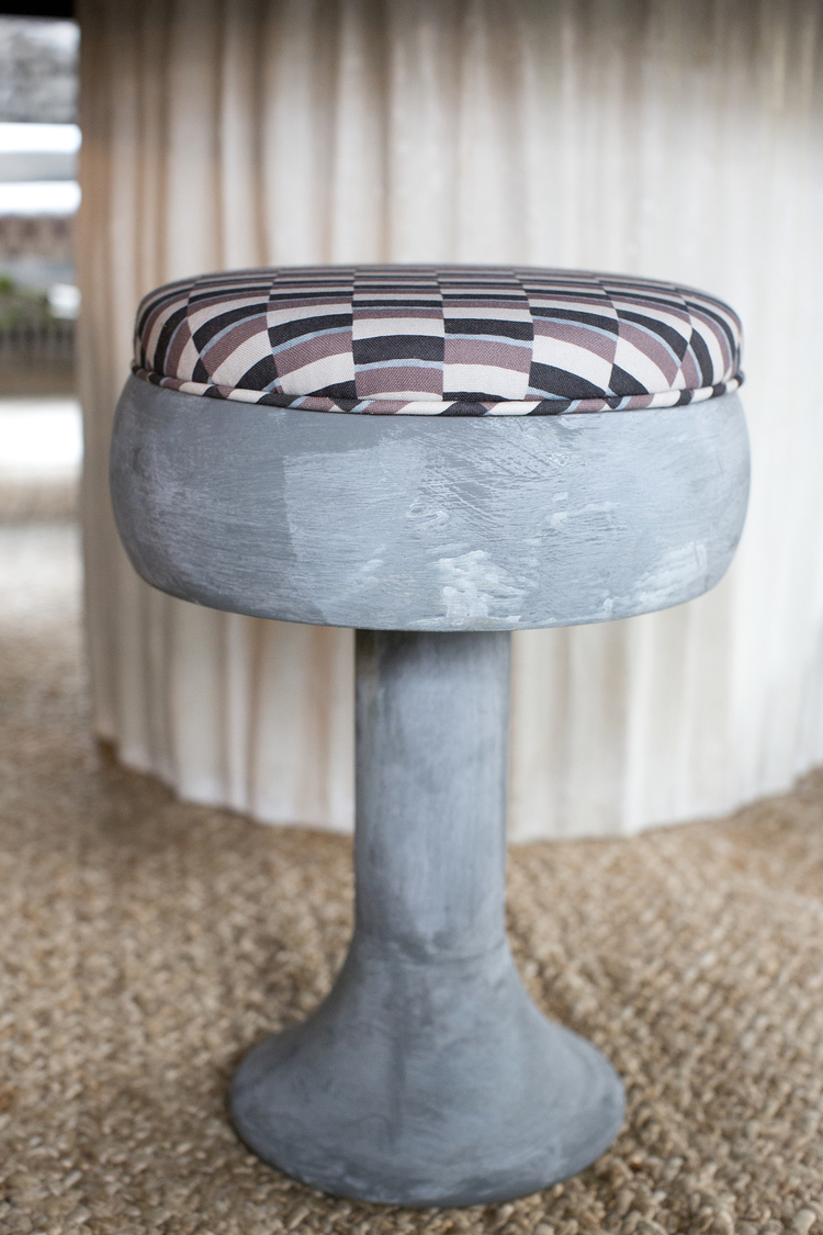 CLOTH & KIND :: Holiday Showhouse, Stool Detail.jpg