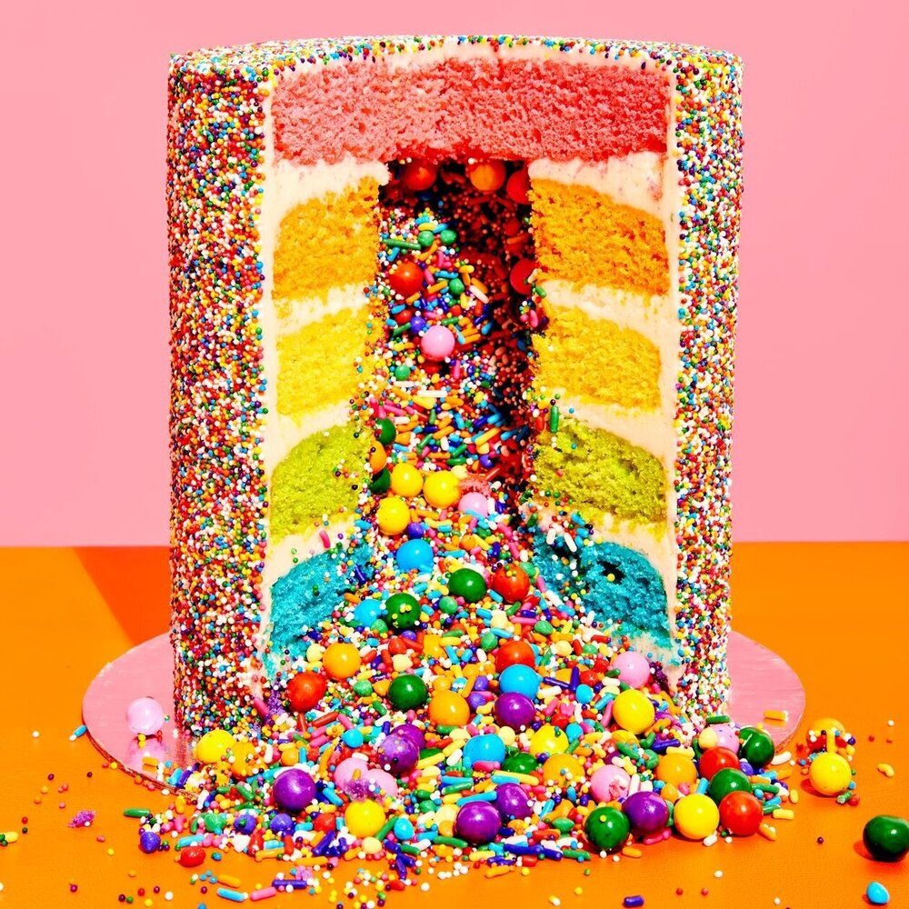 The Rainbow Explosion Is the 'It Cake' of Social Media. It Doesn't Work.    Wall Street Journal  |  September 9, 2019  | Page 1
