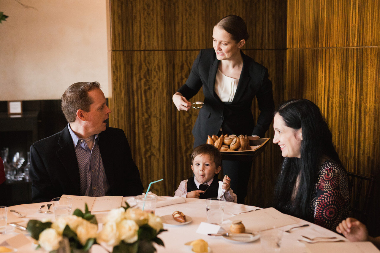 Forget chicken fingers. Top restaurants are catering to young foodies and their parents with sophisticated, multi-course kids' menus.    Wall Street Journal, April 3, 2018