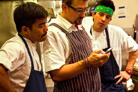 Chefs Take Tweeting to the Next Level, Talk Shop, Field Complaints and Make Diners Feel Like Insiders    Wall Street Journal, October 6, 2011
