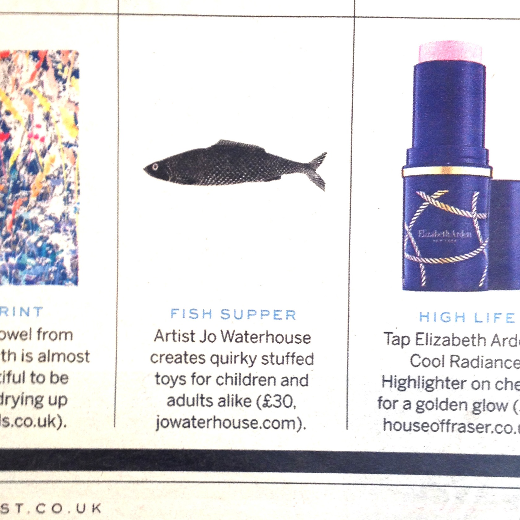 Fish featured on The Style List.