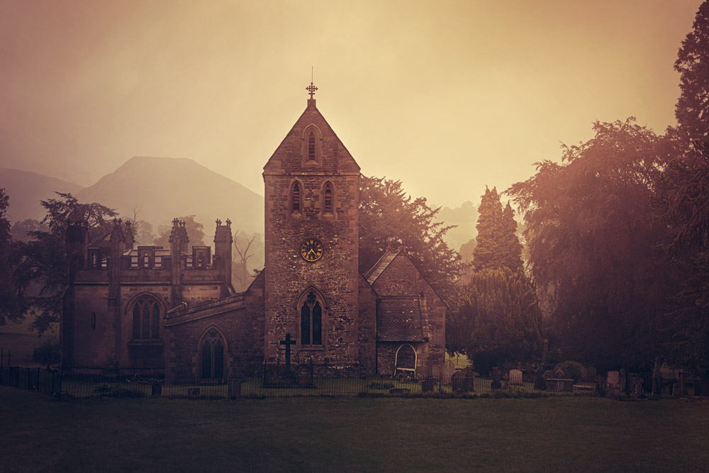 church-at-dusk-midlands-ilam-patrick-sanders