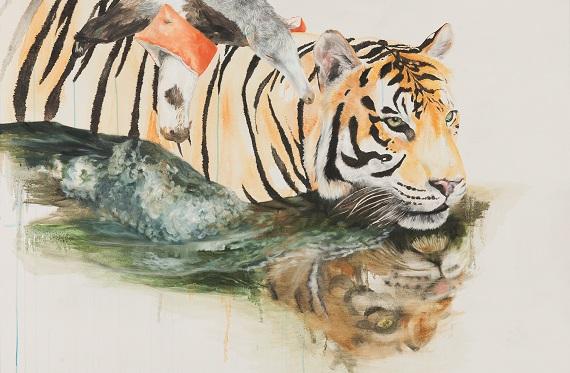 Ina Hsu_Schwimmender Tiger (2).jpg