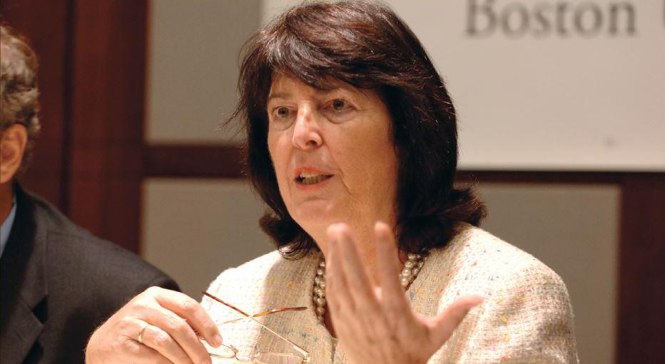 Eva Nowotny served as Austrian Ambassador to the U.S. from 2003 to 2008 (c) BU IR