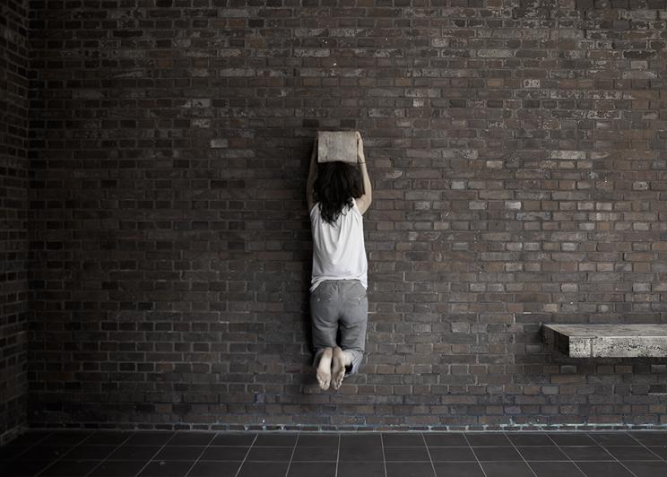 (c) Anita Schmid, Momentkonfiguration/gehaengt, 2012
