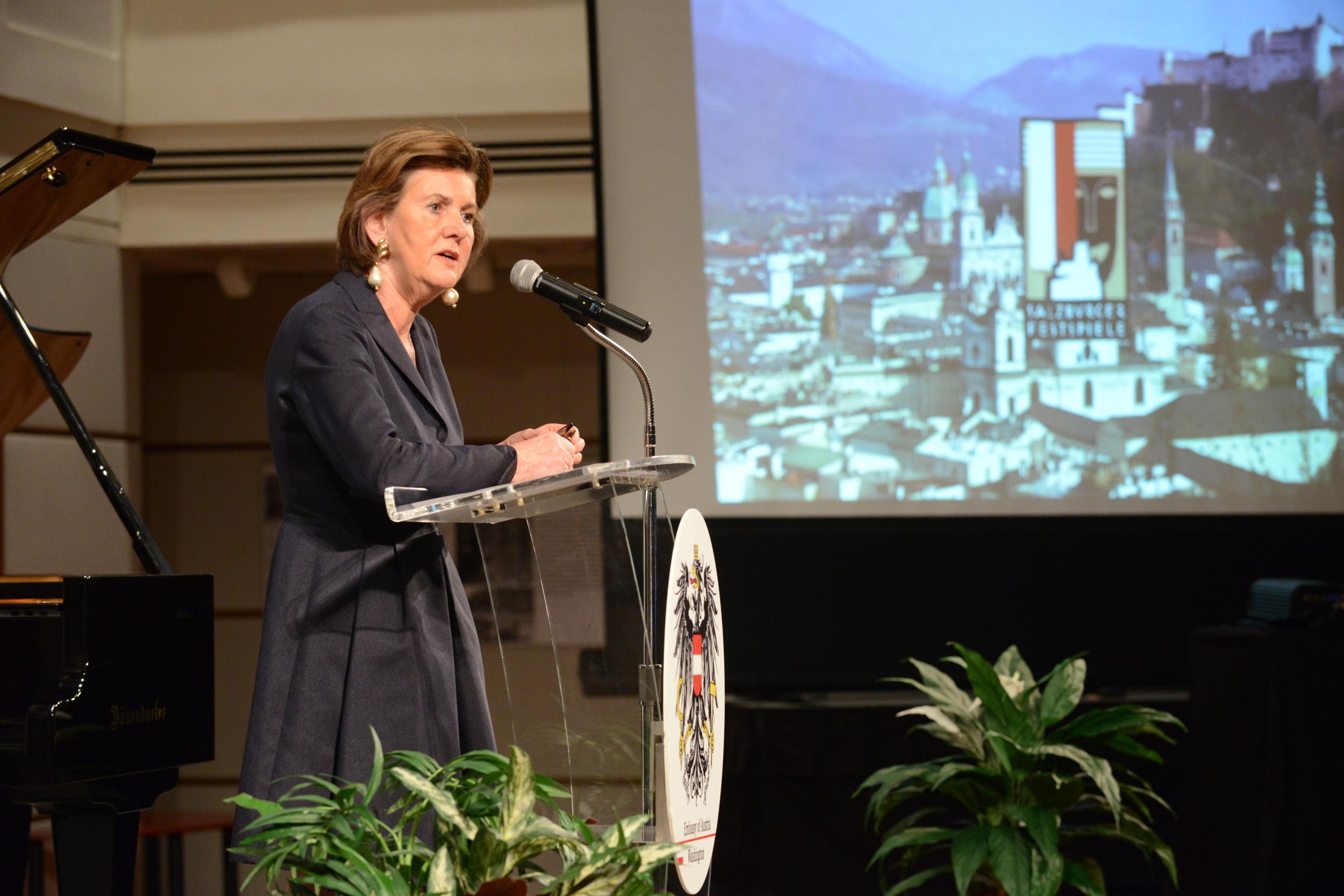 Helga Rabl-Stadler, President of the Slazburg Festival