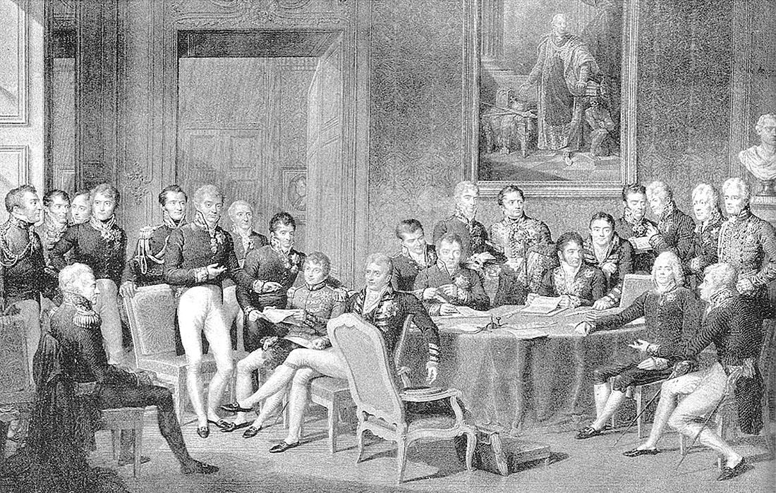 Jean-Babtiste Isabey (1767-1855): The Congress of Vienna, 1815