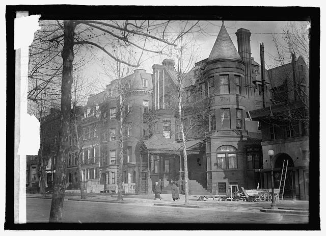 The Embassy Building of Austria-Hungary on 1305 Connecticut Avenue, NW. Embassy of Austria Archives.