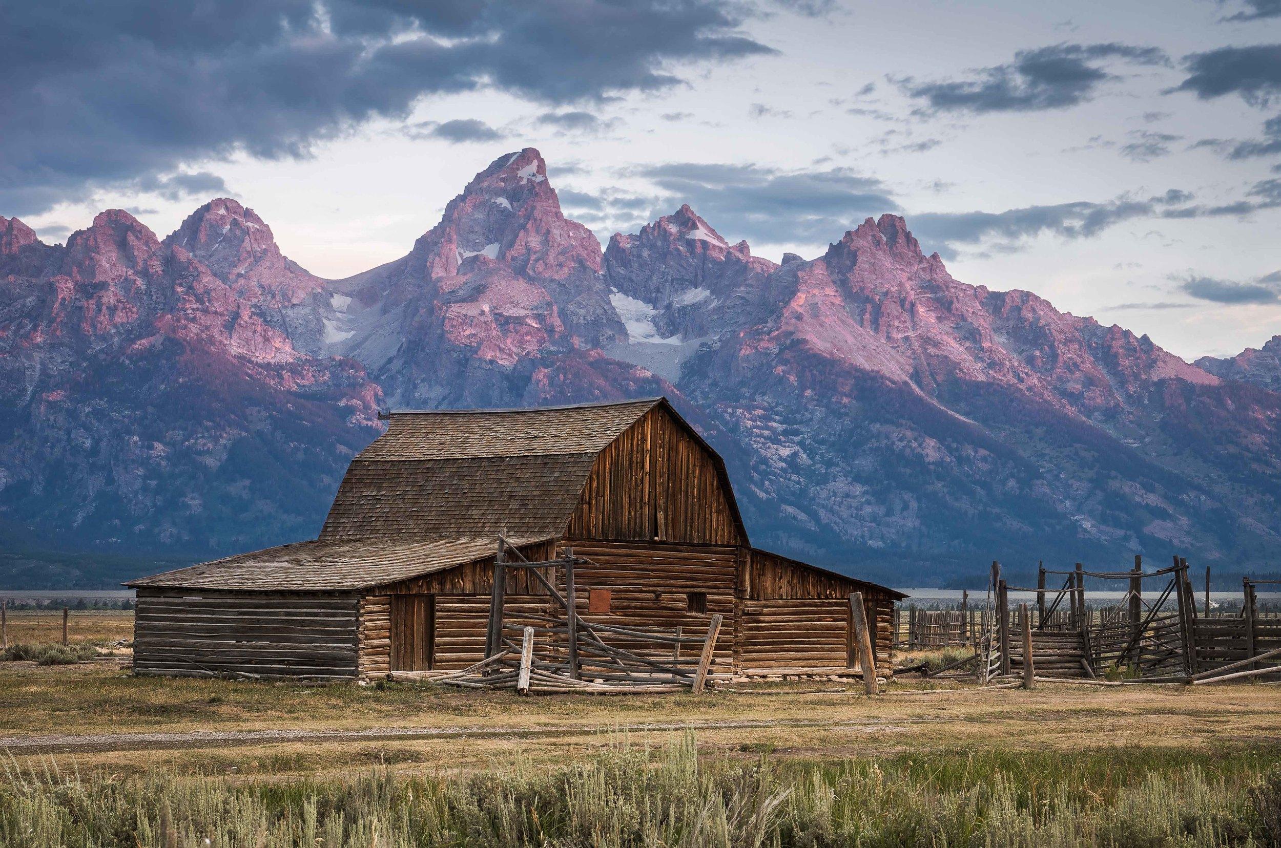Moulton Barn | Grand Tetons National Park, Wyoming