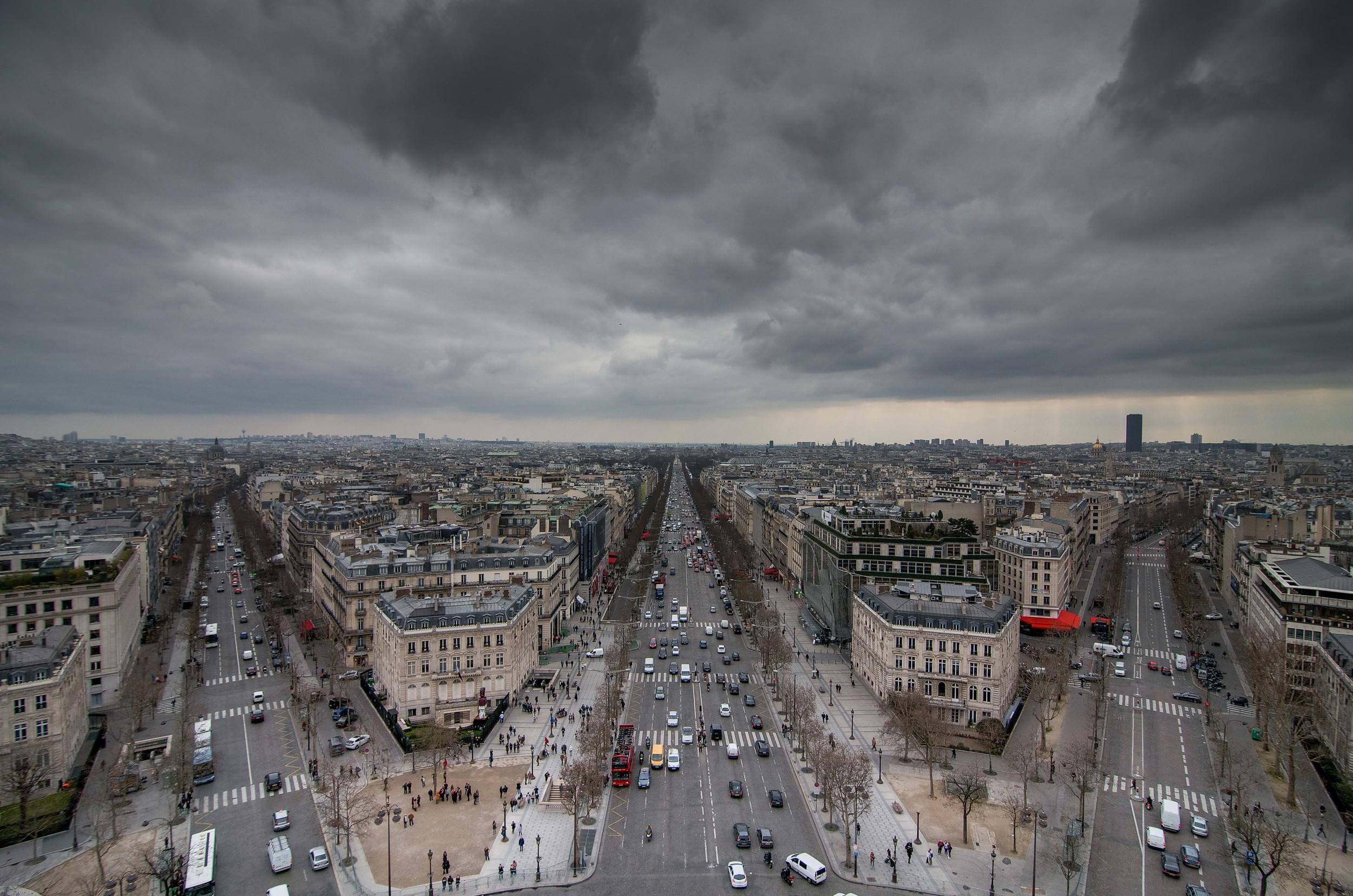View from Arc de Triomphe | Paris, France