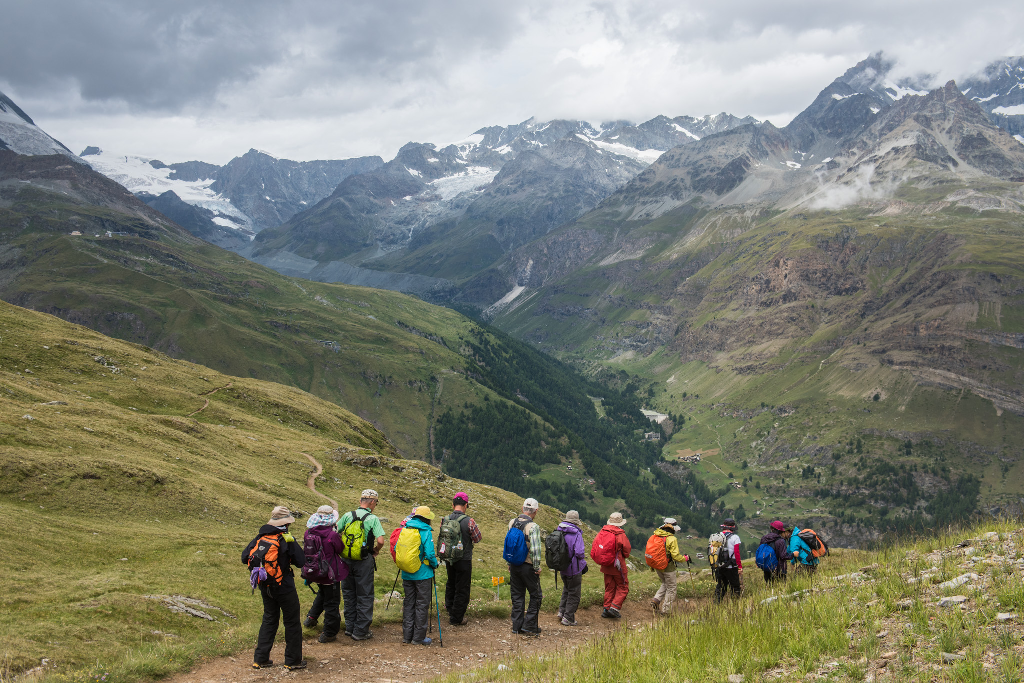 Hiking near Gornergrat | Zermatt, Switzerland