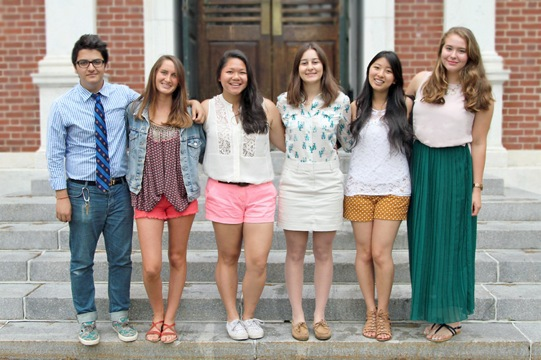 The Phillips Exeter Dress Code Campus Sartorialist team.