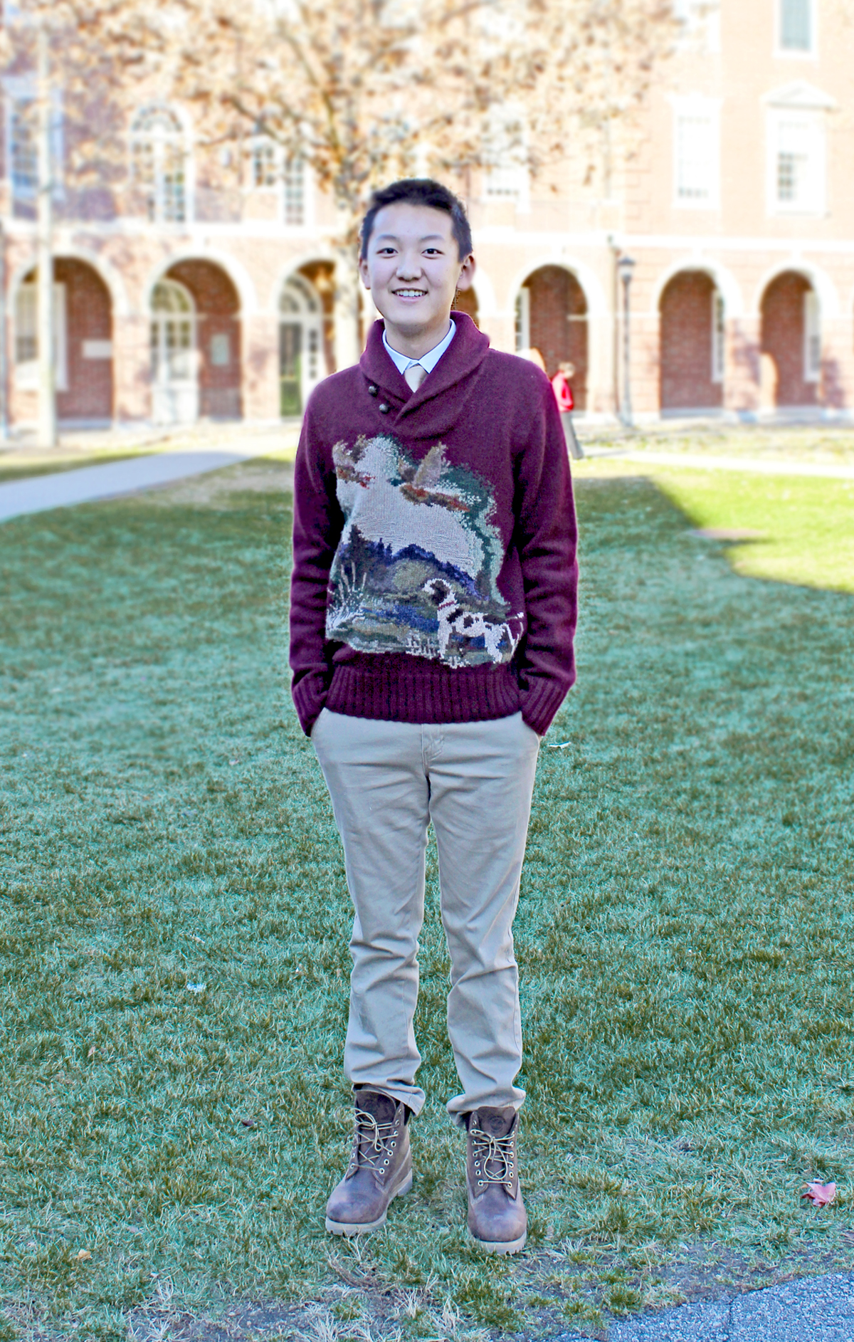 Alex is from Michigan and is a Sophomore at the Phillips Exeter Academy (Class of 2016).