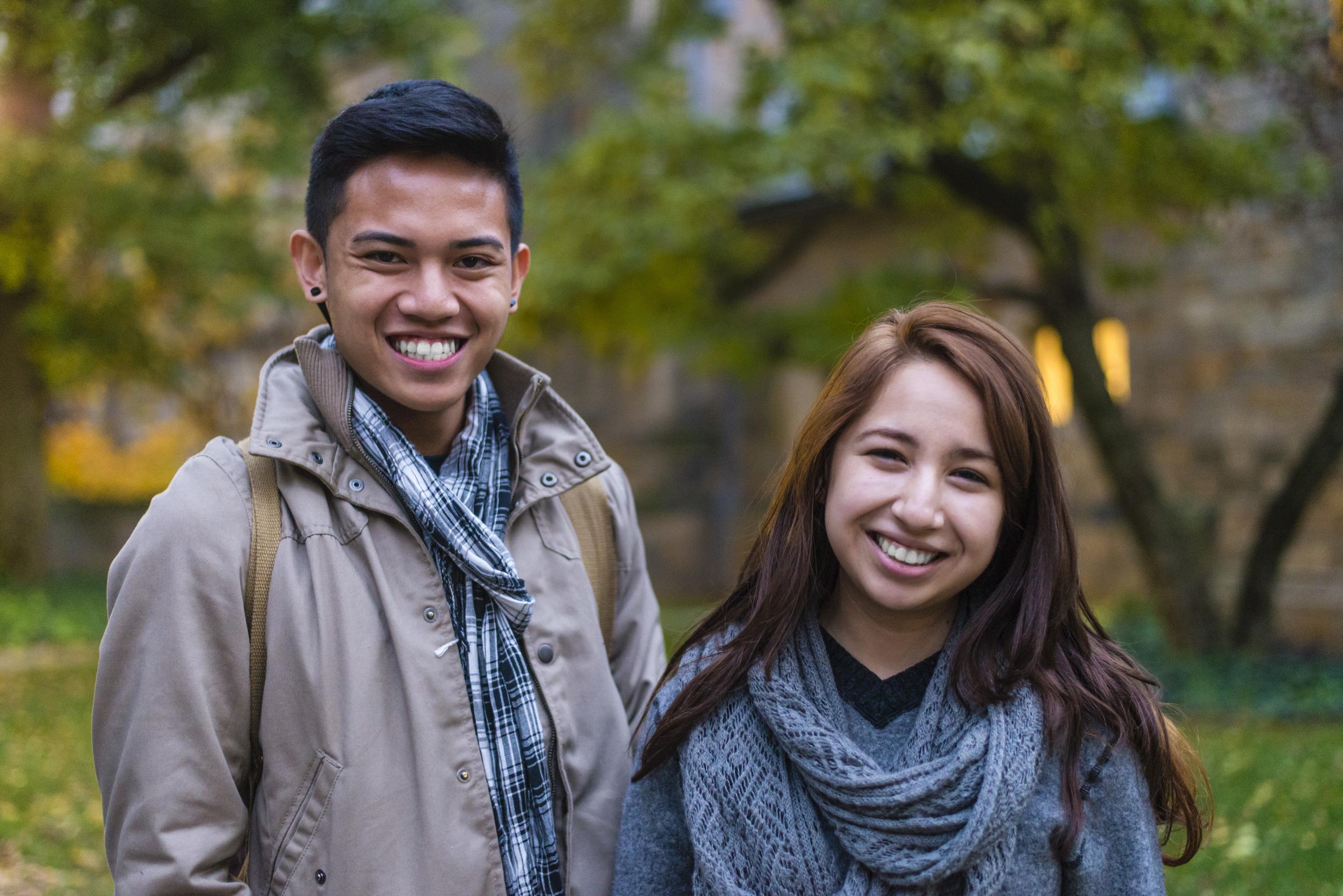 John and Yvette | Yale University