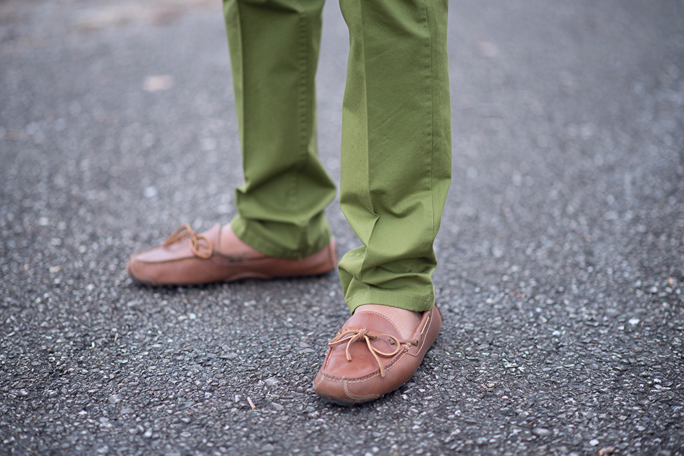 Jerrell Harwell | IUPUI  Loafers-Cole Haan Pants-H&M