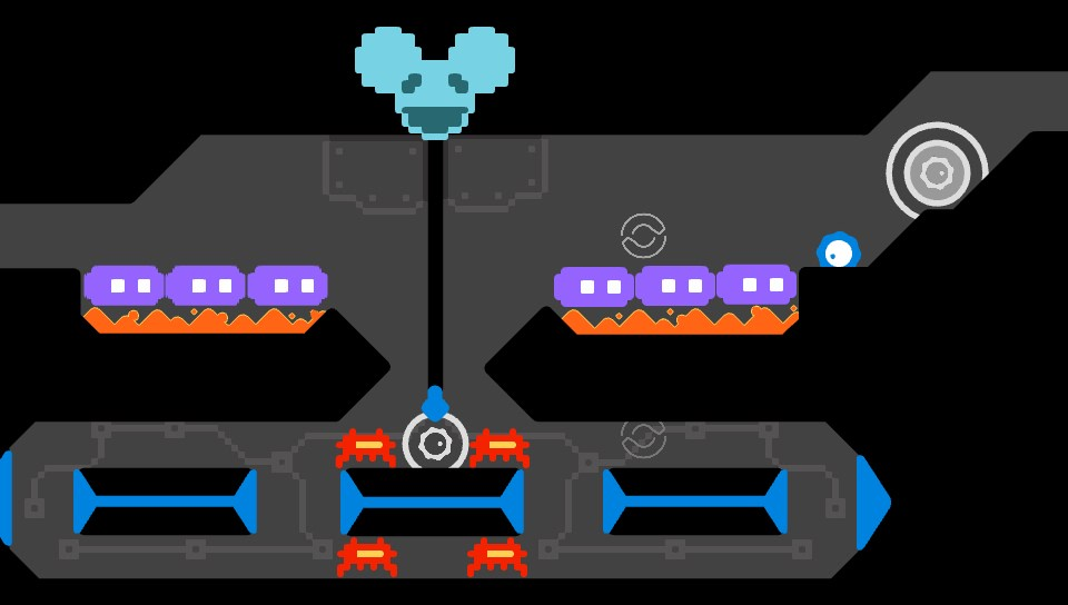 DeadMau5's levels are inspired by old-school gaming.