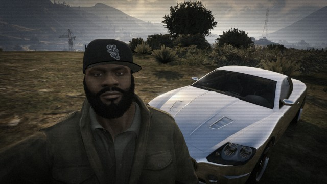 """I have a chrome car, b****. Yeah I'll race you."""