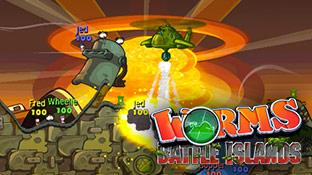 You control an army of worms. It sounds like my nightmare but it's rather enjoyable. (Vita)
