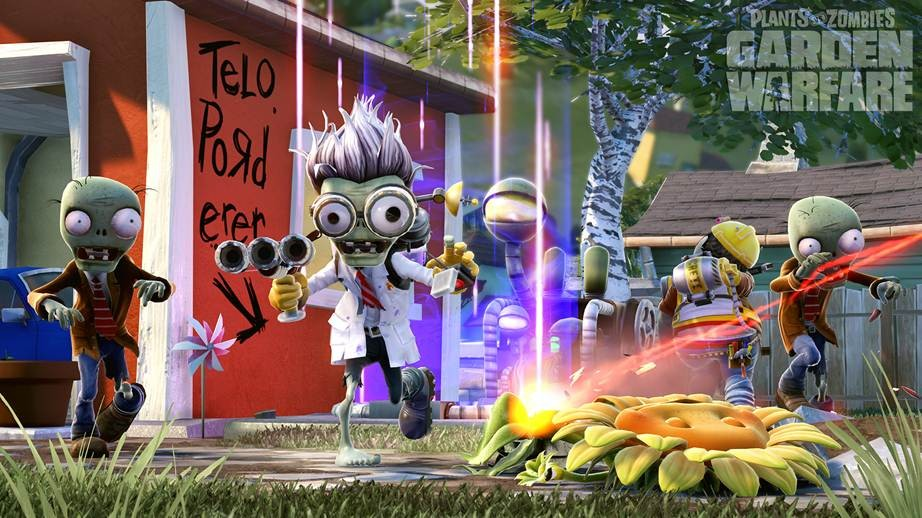 Plants Vs Zombies: Garden Warfare Review: You'll Never Eat Sunflower Seeds Again