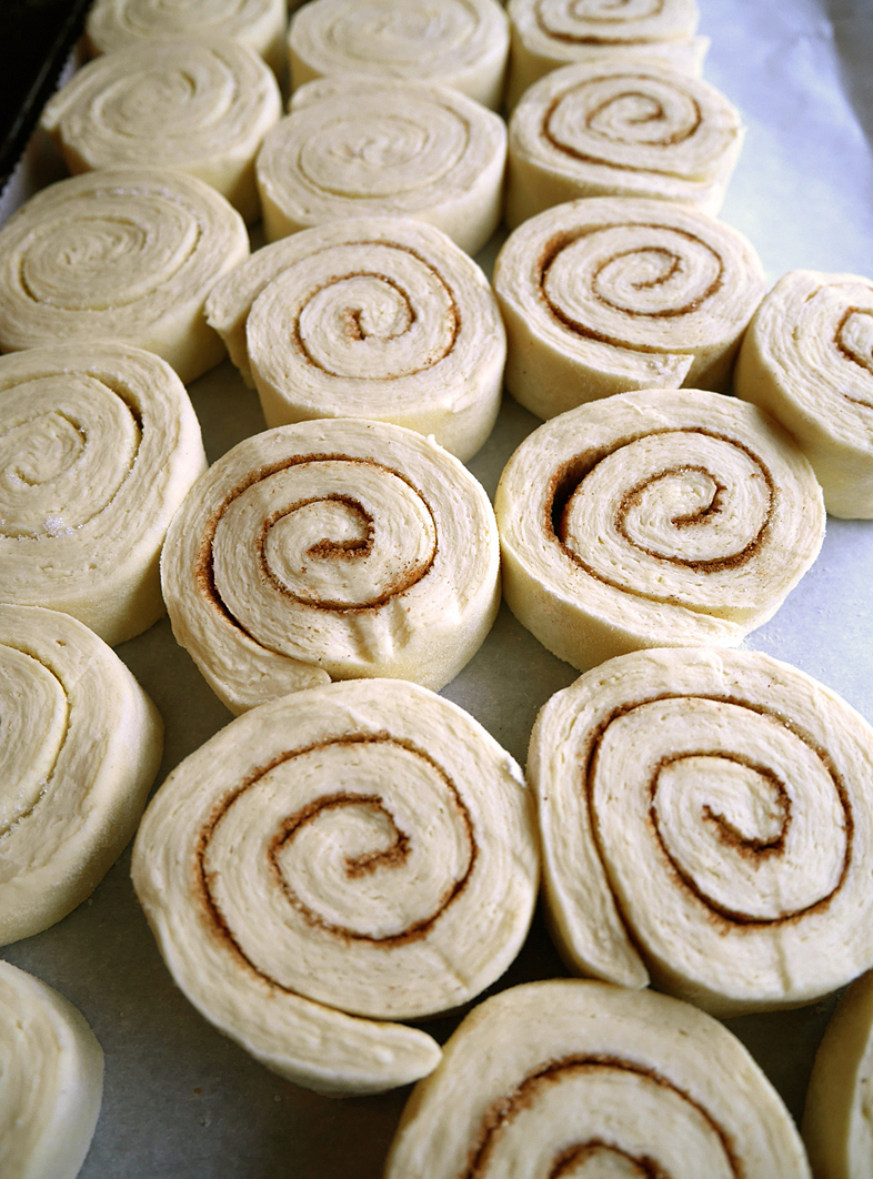Kouign-amann ready for baking