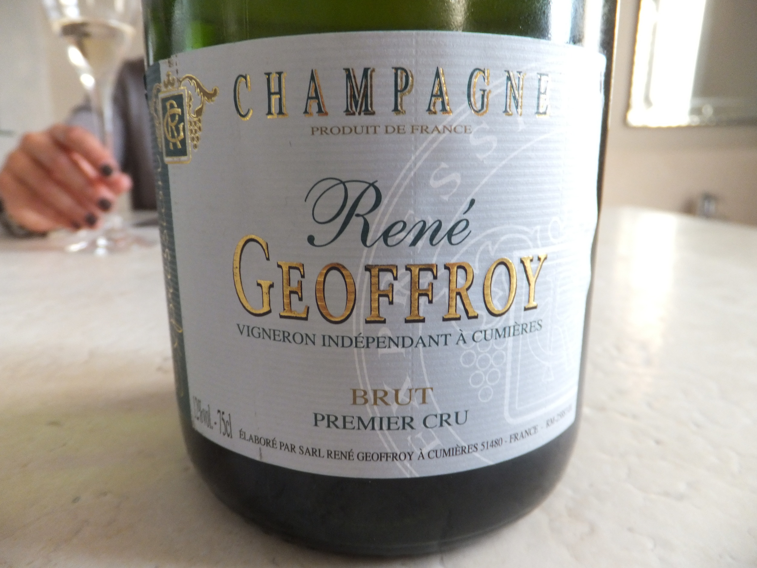 One of the loveliest small producer Champagne houses (Elspeth Copeland)