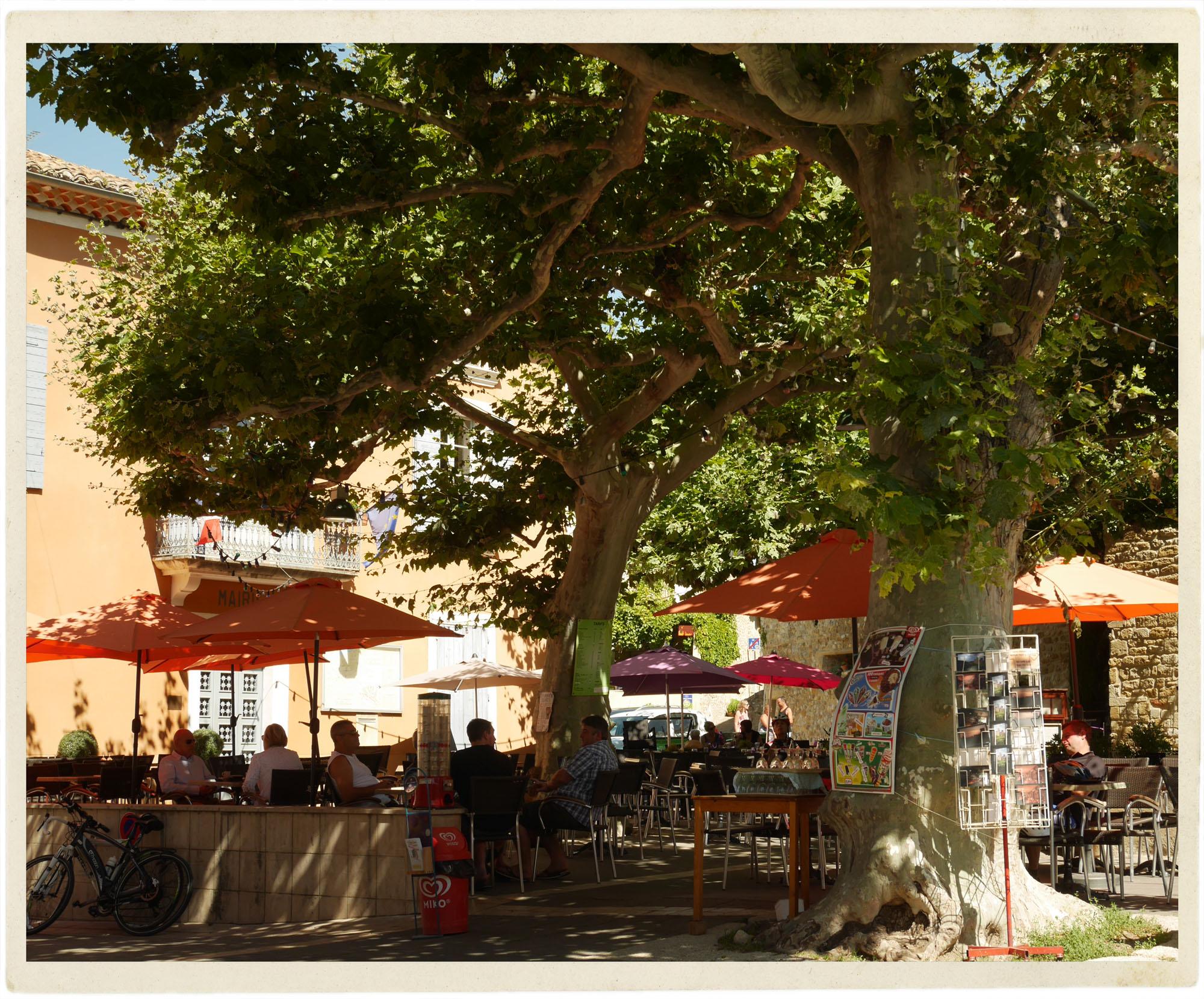 Little village of Villedieu.