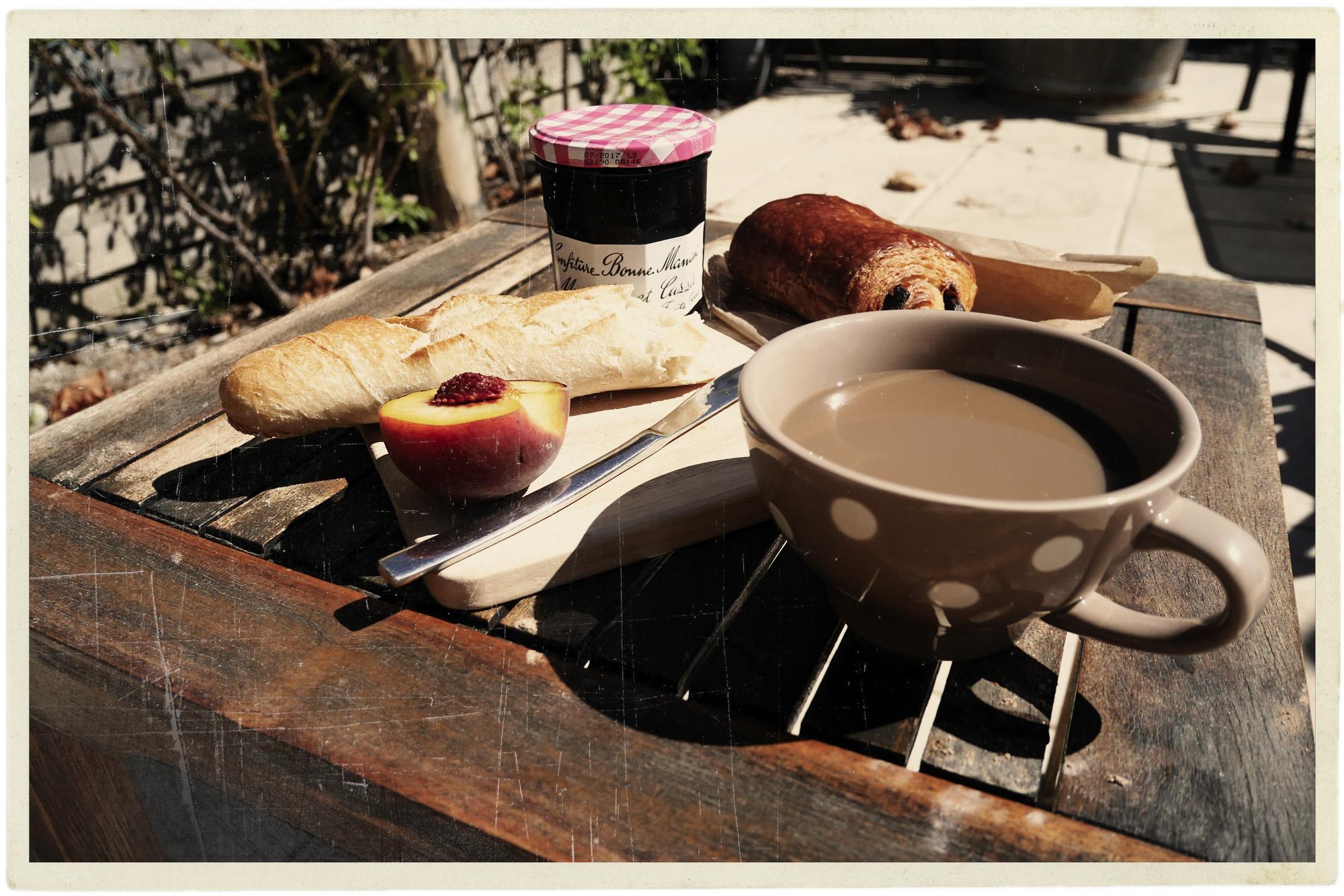 Perfect petit déjeuner.