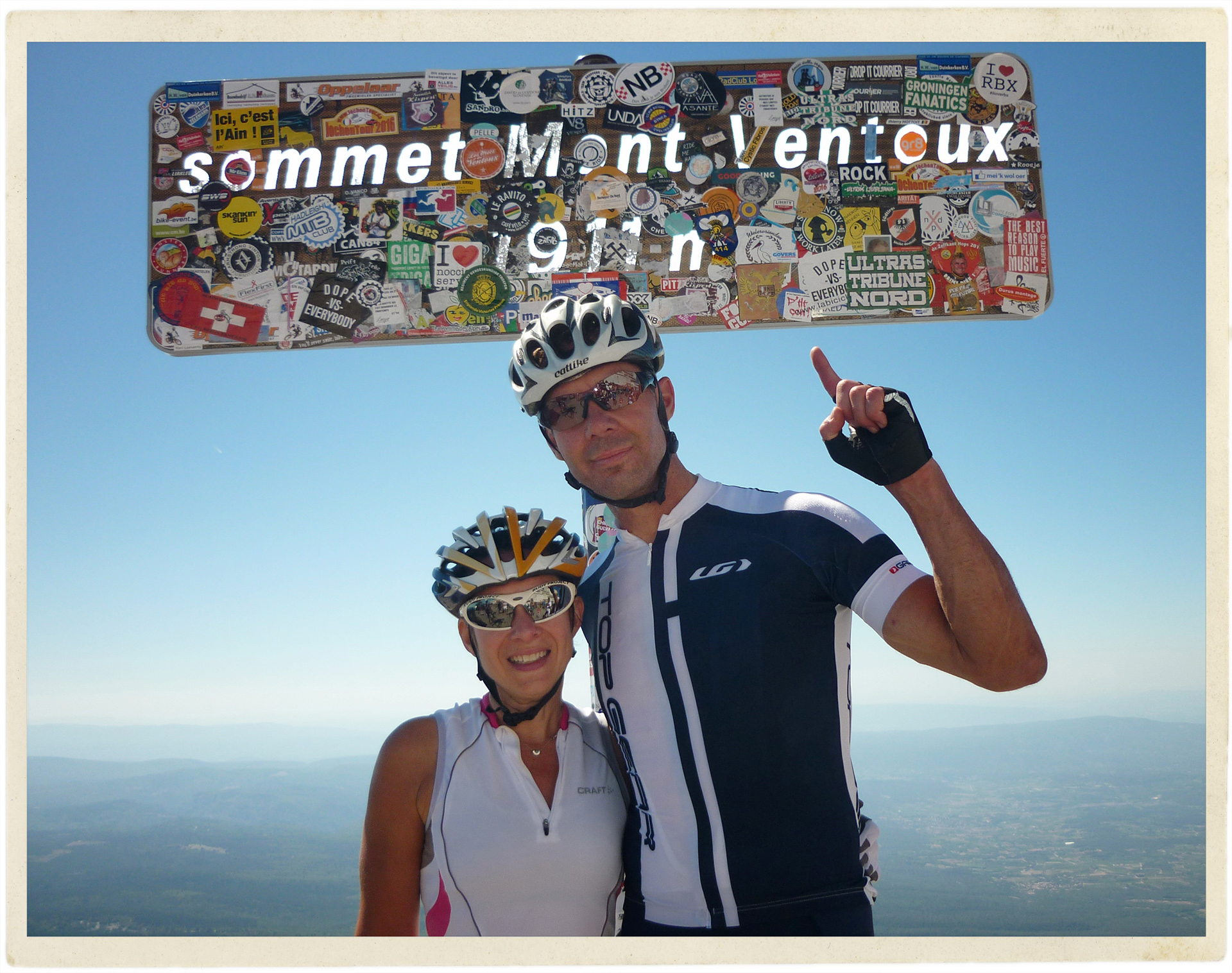 Mont Ventoux summit.