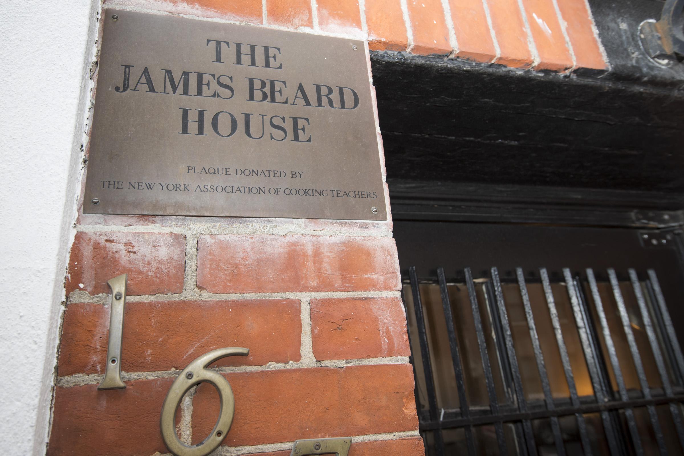 James Beard House.