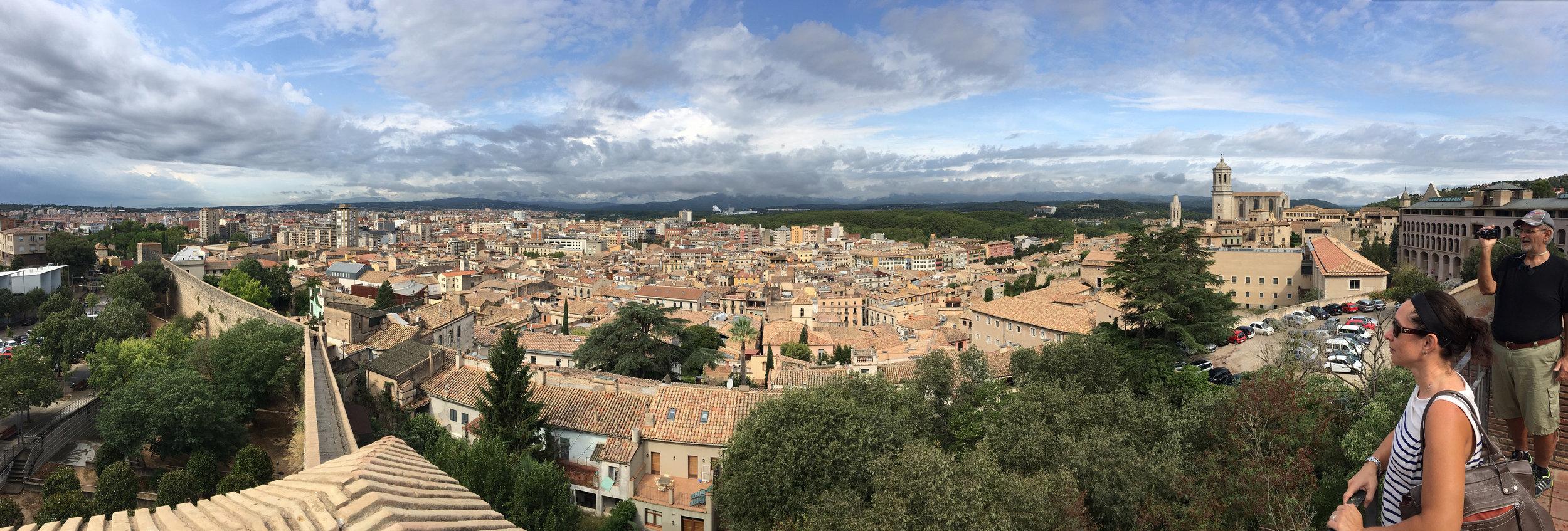 Girona panorama.