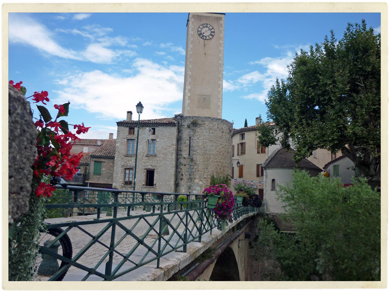 Lovely village of Mollans-sur-Ouvèze.