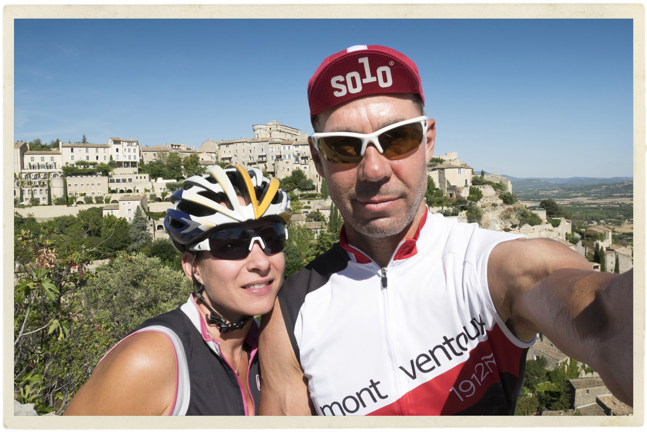 Beautiful ride in the Luberon on one of the last +30 days.