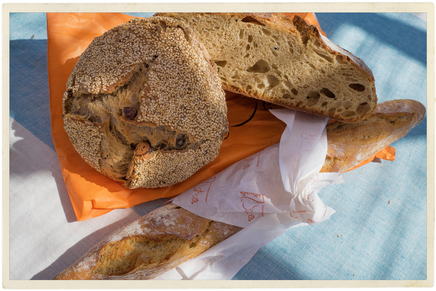 Bread in France is impossible to not enjoy.