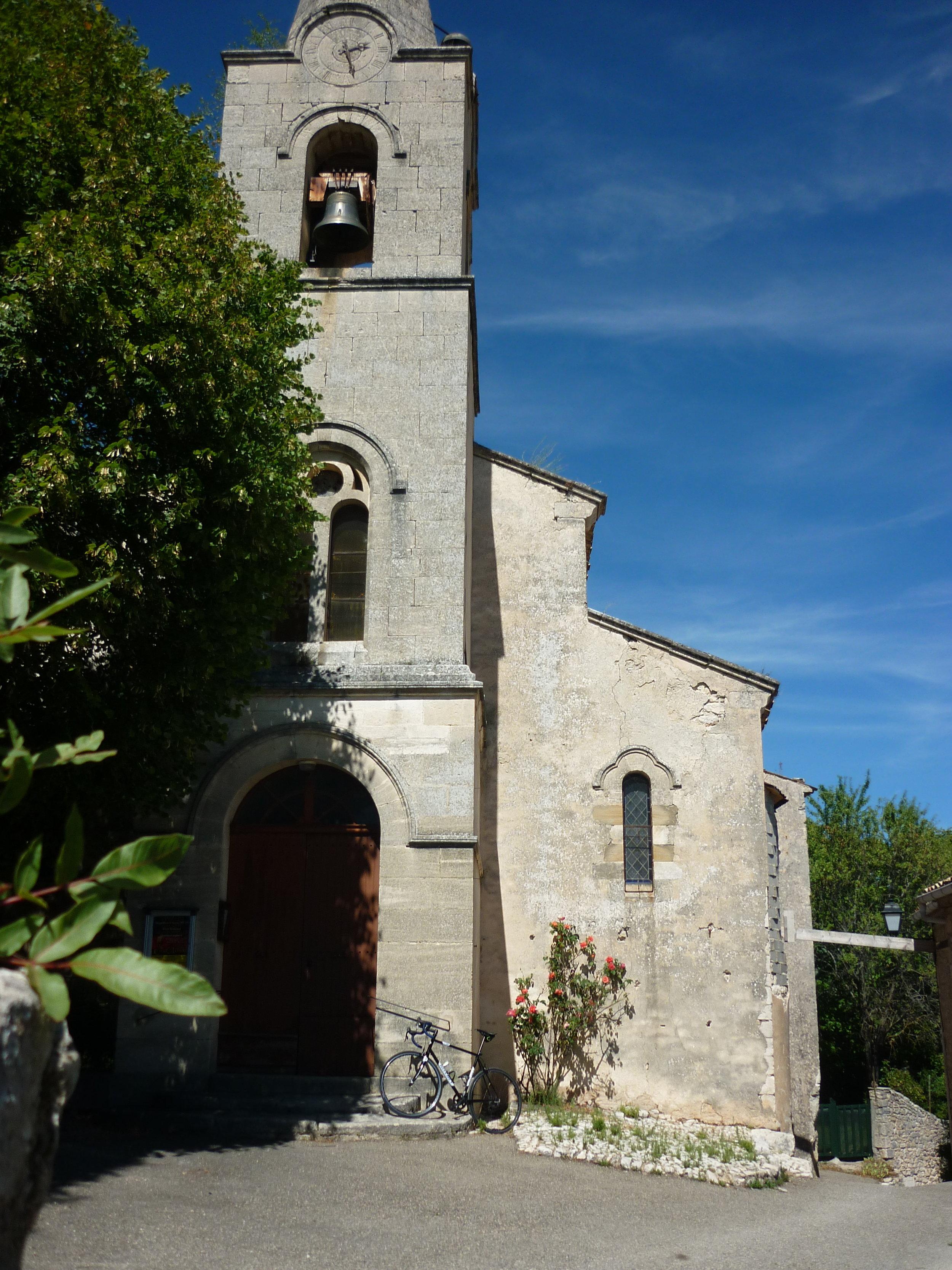 The village of Monieux