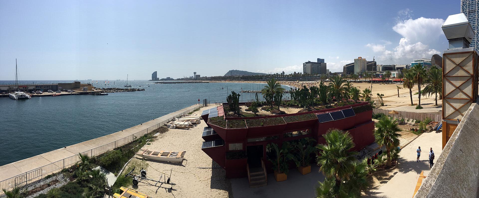 Barceloneta Beach.
