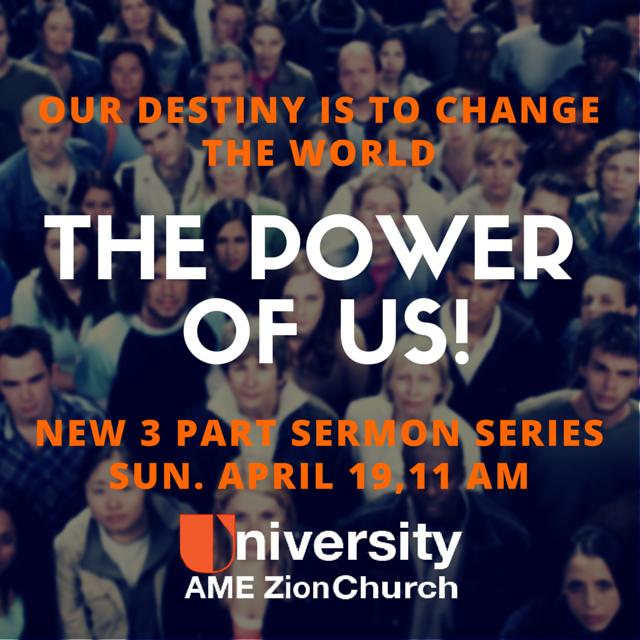The power of us sermon series