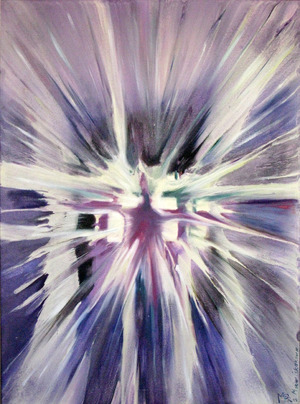 REBORN INTO THE LIGHT by  Maria Iskakova