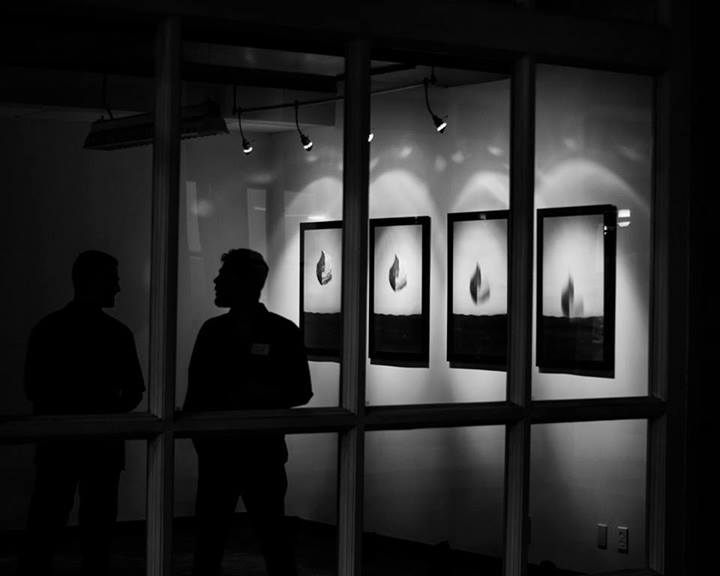 installation view, opening night