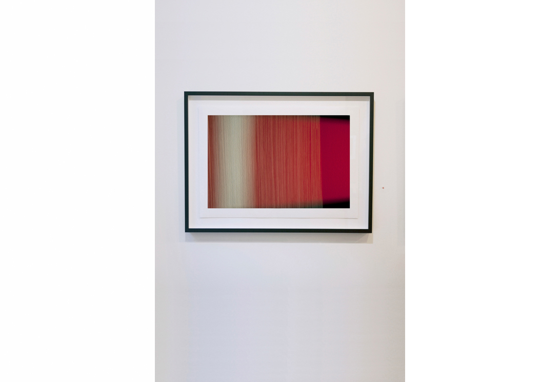 High Speed  (2014) by Steven Silverstein photography, archival pigment ink on rag paper, 20 x 30 inches (50.8 x 76.2 cm), in 2-person show, Esperson Gallery. Edition of 5, AP 1.