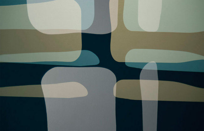 Reflections in Case Study (2015); 26 x 40 inches; Archival pigment on canvas; Edition of 3 and 1 artist proof