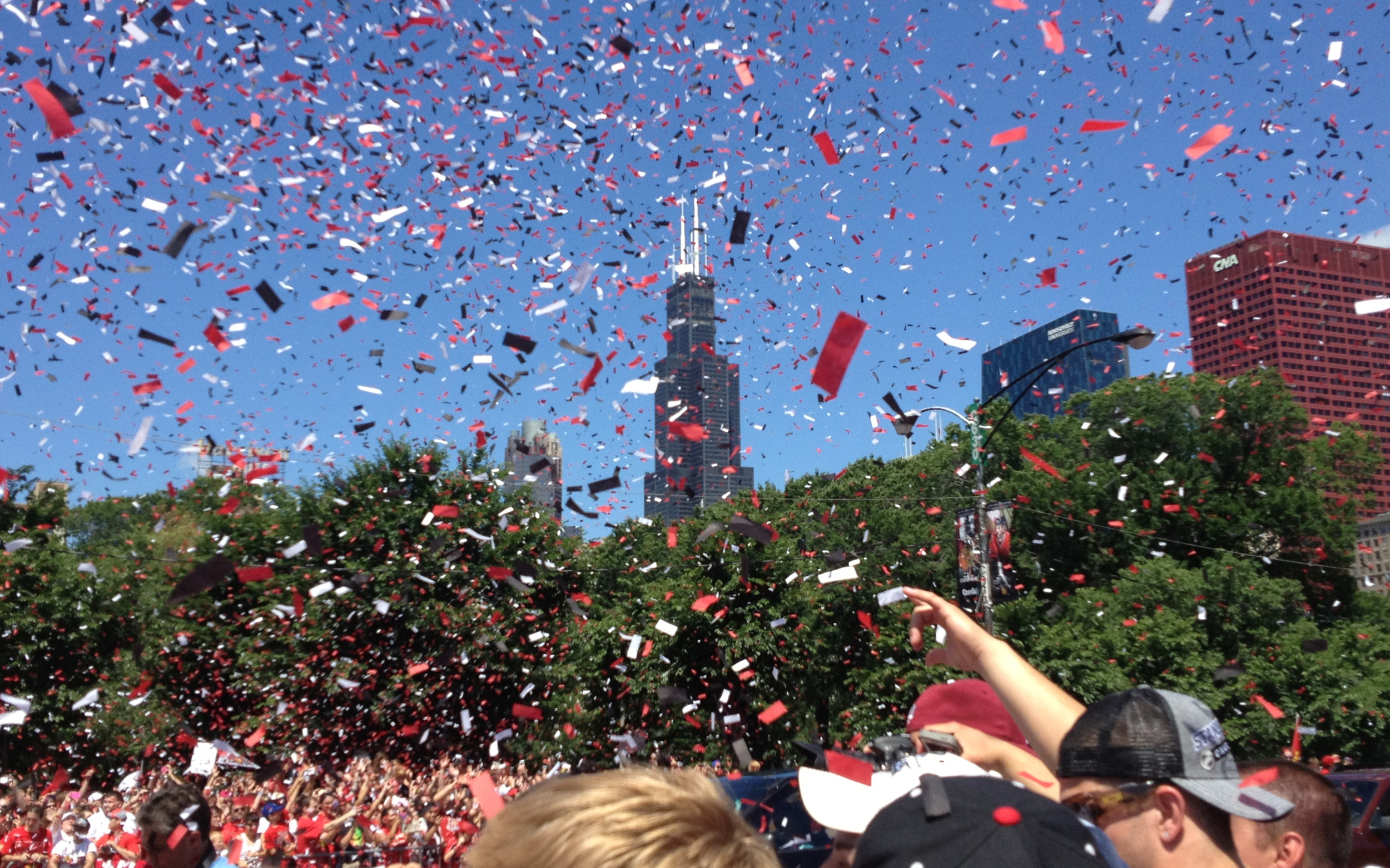 Photo from the 2013 Blackhawks Parade