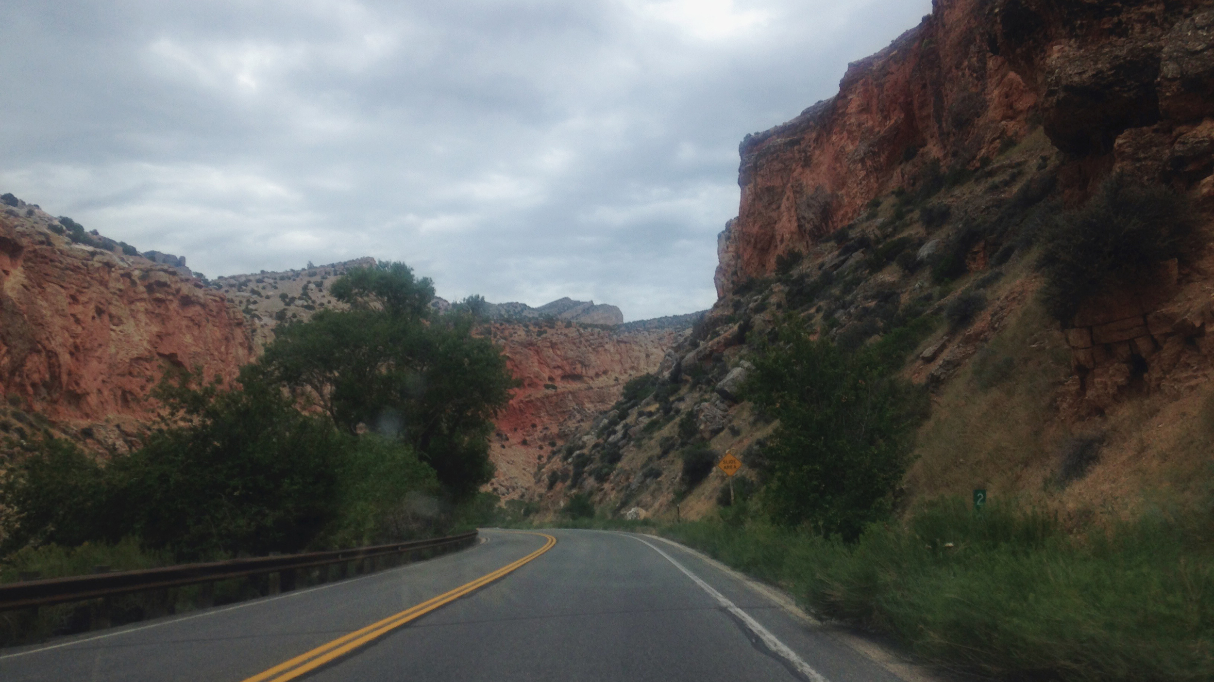 The entrance to Bighorn National Forrest