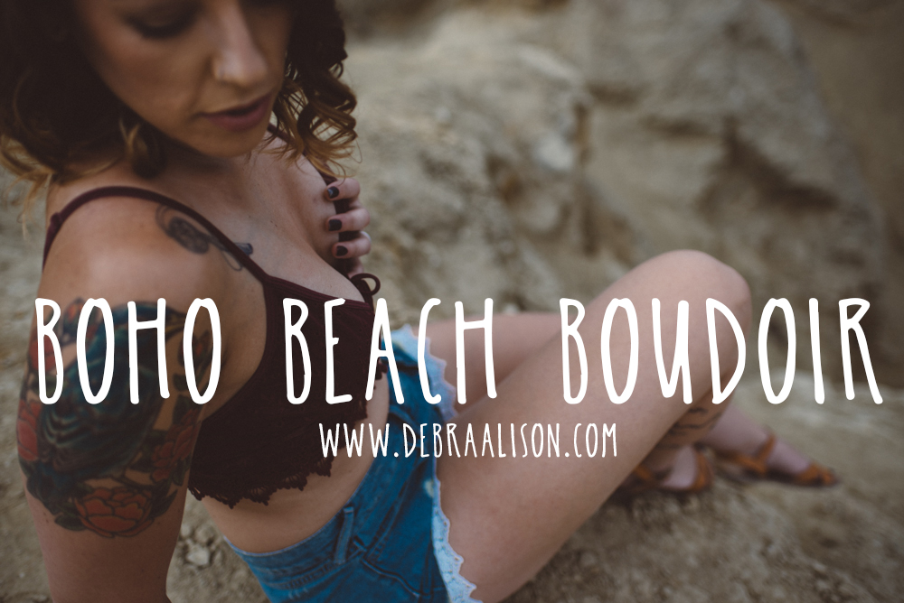 Boho Beach Boudoir by Debra Alison